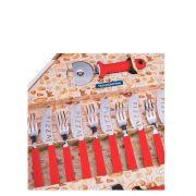 Conjunto para Pizza 14 peças Vermelho TRAMONTINA