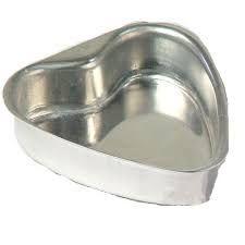 Forma Alumínio Pão de Mel Coração c/12 GALLIZZI