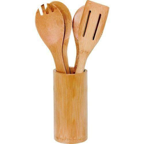 Kit de Utensílios Ecokitchen Bambu 5 peças - Mimo