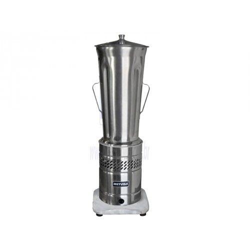 Liquidificador 08 litros Industrial 1/2cv Baixa Rotação 127v METVISA
